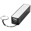 Jive 2000 mAh power bank in black-solid-and-white-solid