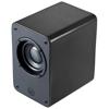 Classic Bluetooth® vintage-looking speaker in black-solid