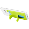 Stue silicone smartphone stand and wallet in lime