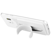 Stue silicone smartphone stand and wallet in white-solid
