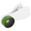 Optic wide-angle and macro smartphone camera lens in lime