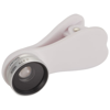 Optic wide-angle and macro smartphone camera lens in silver