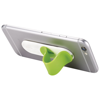 Compress smartphone stand in lime
