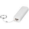 Span 1200 mAh power bank in white-solid