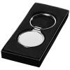Orlene round keychain in silver