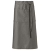 Skyla bartender apron in light-grey