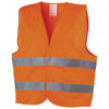 See-me XL safety vest for professional use in orange