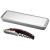 Morris wooden waitress knife in tin case in silver