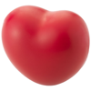 Heart stress reliever in red