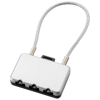 Heatrow security lock in silver