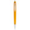 Albany ballpoint pen in transparent-orange