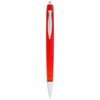 Albany ballpoint pen in transparent-red