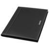 A4 zipper portfolio in black-solid