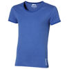 Chip short sleeve t-shirt. in heather-blue