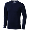 Curve long sleeve men's t-shirt in navy
