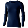 Curve long sleeve women's t-shirt in navy
