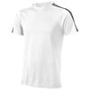 Baseline short sleeve t-shirt. in white-solid-and-black-solid