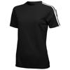 Baseline short sleeve ladies t-shirt. in black-solid
