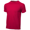 Serve short sleeve men's cool fit t-shirt in red