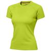 Serve short sleeve women's cool fit t-shirt in apple-green