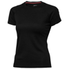 Serve short sleeve women's cool fit t-shirt in black-solid
