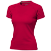 Serve short sleeve women's cool fit t-shirt in red