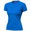 Serve short sleeve women's cool fit t-shirt in sky-blue