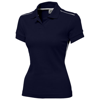 Backhand short sleeve ladies polo in navy