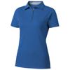Hacker short sleeve ladies polo in sky-blue