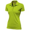 Advantage short sleeve women's polo in apple-green