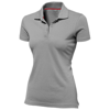 Advantage short sleeve women's polo in grey