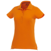 Advantage short sleeve women's polo in orange
