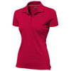 Advantage short sleeve women's polo in red