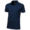 Let short sleeve men's jersey polo in navy