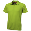 Game short sleeve men's cool fit polo in apple-green