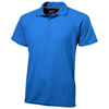 Game short sleeve men's cool fit polo in sky-blue