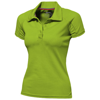 Game short sleeve women's cool fit polo in apple-green