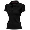 Game short sleeve women's cool fit polo in black-solid