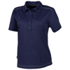 Receiver short sleeve ladies Polo in navy