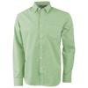 Net long sleeve shirt in green