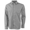 Net long sleeve shirt in grey