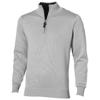 Set quarter zip pullover in grey