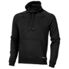 Racket sweater in black-solid