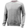 Toss crew neck sweater in grey-melange