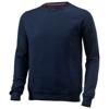 Toss crew neck sweater in navy