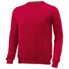 Toss crew neck sweater in red