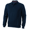 Referee polo sweater in navy