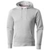 Alley hooded Sweater in grey-melange