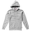 Alley hooded ladies sweater in grey-melange