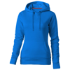 Alley hooded ladies sweater in sky-blue